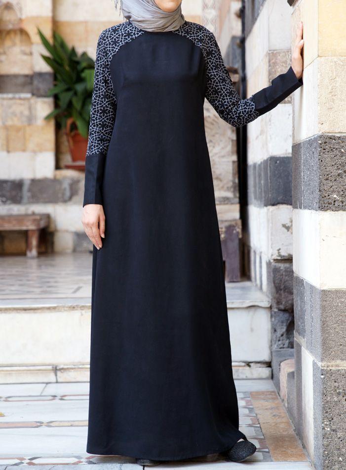 SHUKR USA   Barakah Embroidered Dress