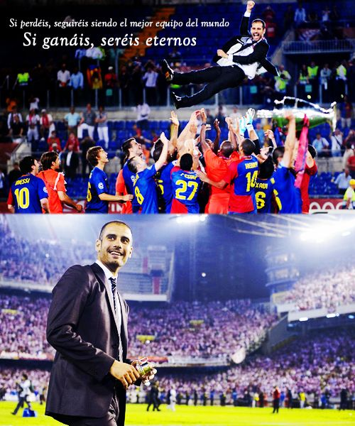 """""""If you lose today you will continue to be the best in the world, but if you win you will be eternal"""""""