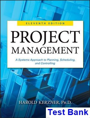 21 best testbank download images on pinterest manual textbook and project management a systems approach to planning scheduling and controlling 11th edition kerzner test bank fandeluxe Gallery