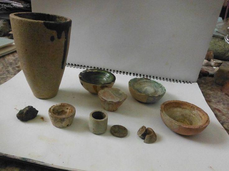 Stoneware Gold Assay Crucible dish crucibles Ingot cuplets by jones101 - $20.00