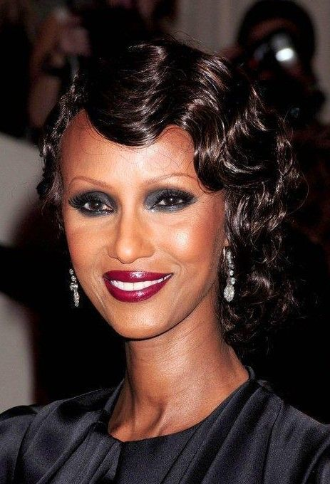black girls hairstyles finger waves pics | Classic Finger Wave Hairstyle – Iman Hairstyles