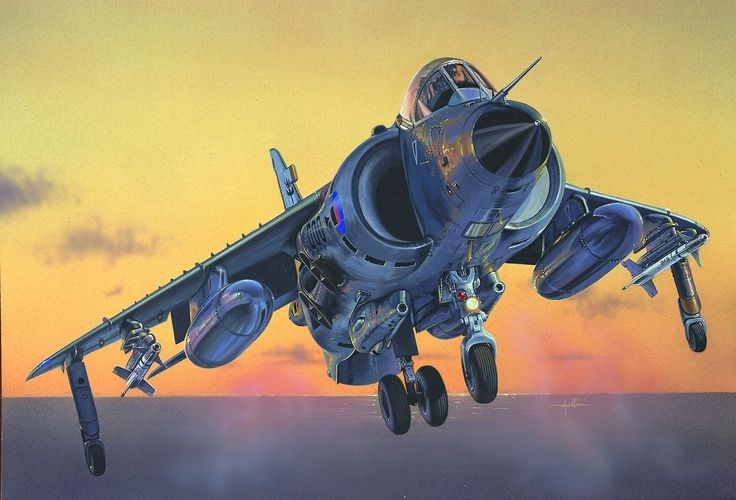 Las Cosicas del Panzer — Sea Harrier FRS.1