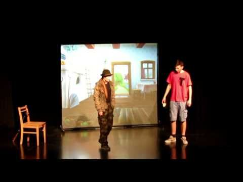 Otroška gledališka predstava Hop v pravljico (avtor: Tomaž Lapajne Dekleva)