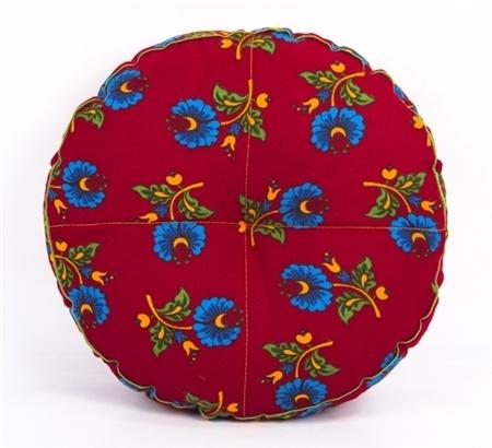 Gagva Pazen kırmızı yastık -  www.gagva.com.tr