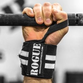 Rogue Wrist Wraps - White Series. Anthony and/or Jordan.