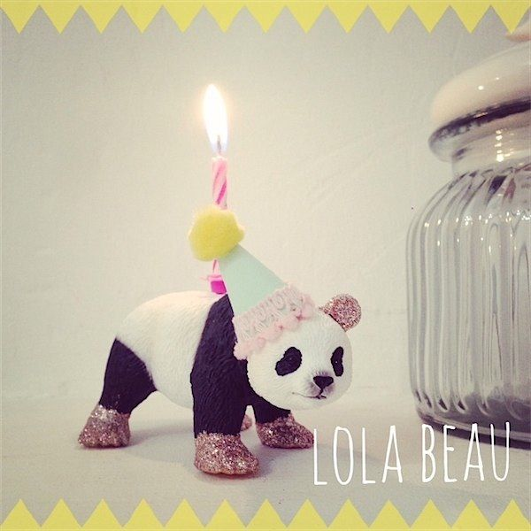Handmade candle holders from Lola Beau Designs via Toby