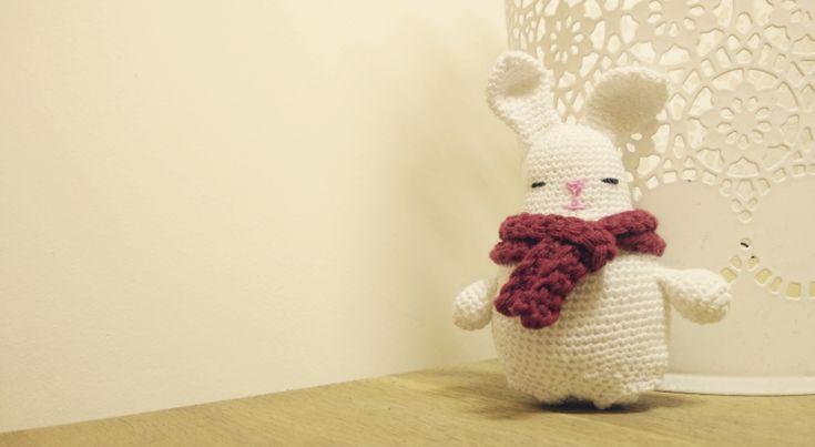 #free #crochet #amigurumi #easter #bunny #rabbit #pattern #ECRUSTATE