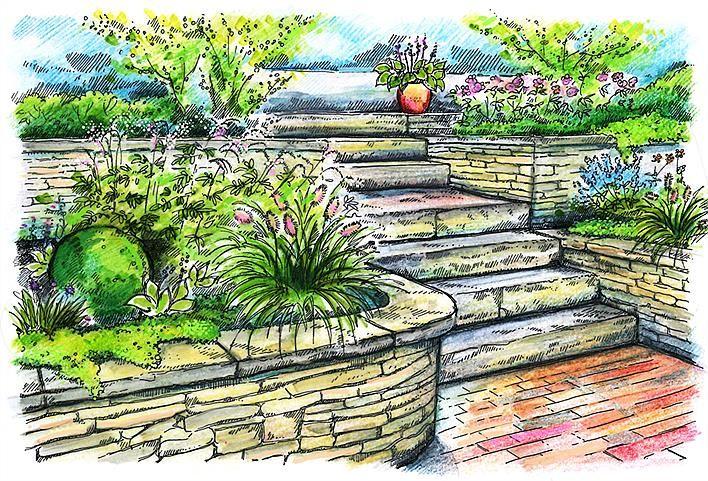 Ogród wielopoziomowy - przeczytaj o nim w naszym artykule.