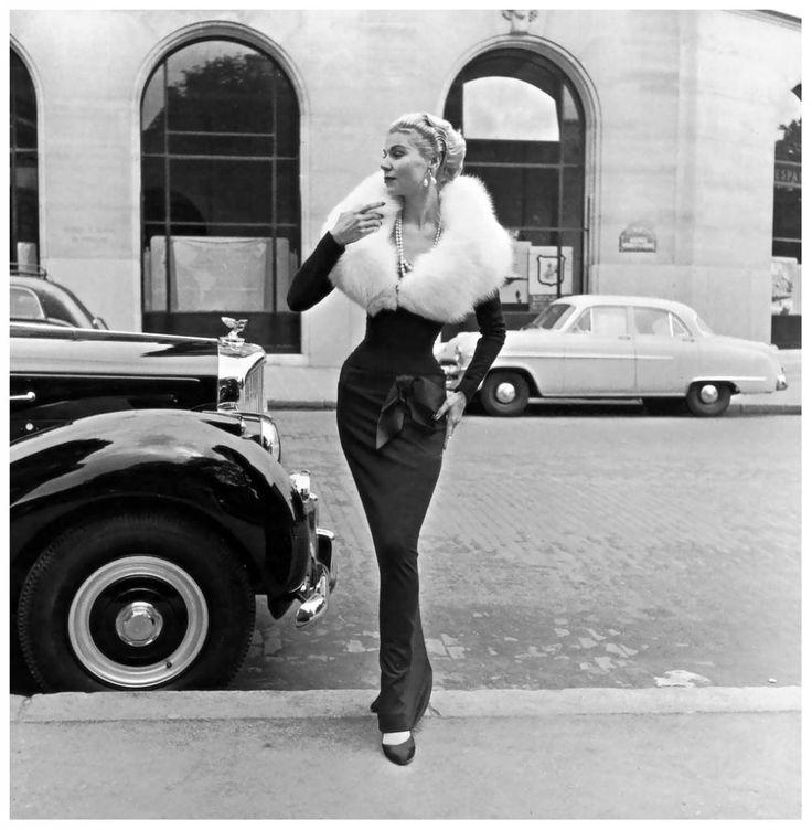 Ms. Bentley, Vivian Maier, 1951