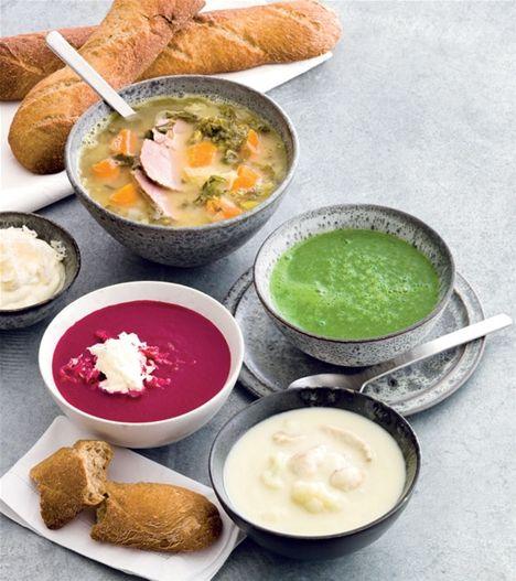 4 fristende supper med knald på farverne - Hjemmet DK