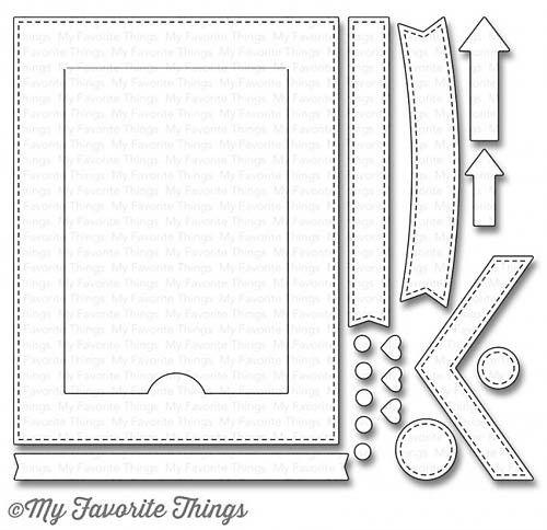 MFT STAMPS: Blueprints Die #28 Die-Namics