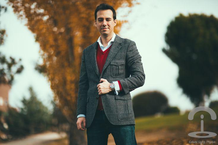 Colubi Menswear Crimenes de la Moda Camisa: Scalpers Jersey: Scalpers Blazer: Scalpers Vaqueros: American Eagle Zapatos: El Ganso Cinturón: Gucci Reloj: Rolex
