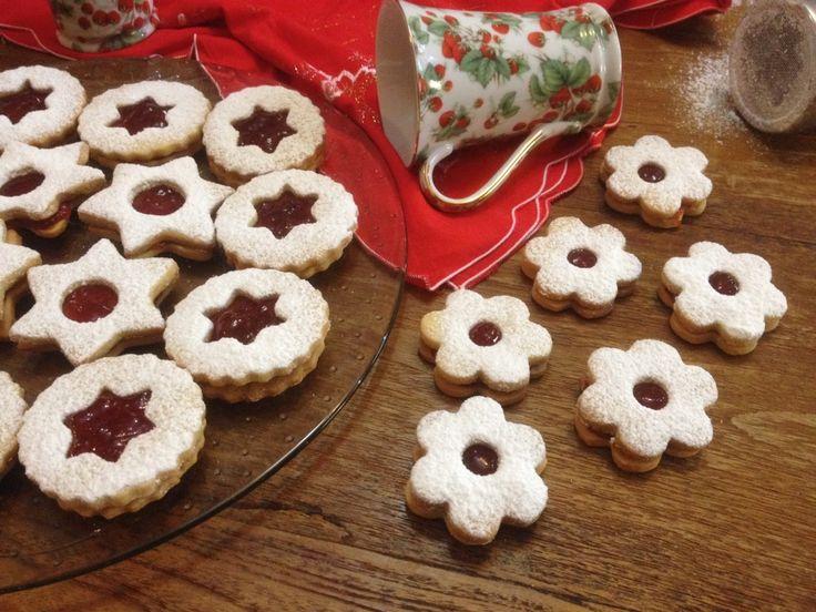 Linzer βιεννέζικα μπισκότα