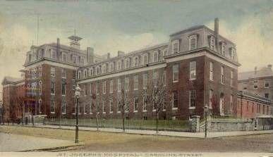 St Joseph Hospital, Baltimore North Caroline Street