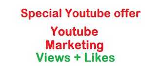 Add 5000 Youtube views 100 Youtube Likes for $5