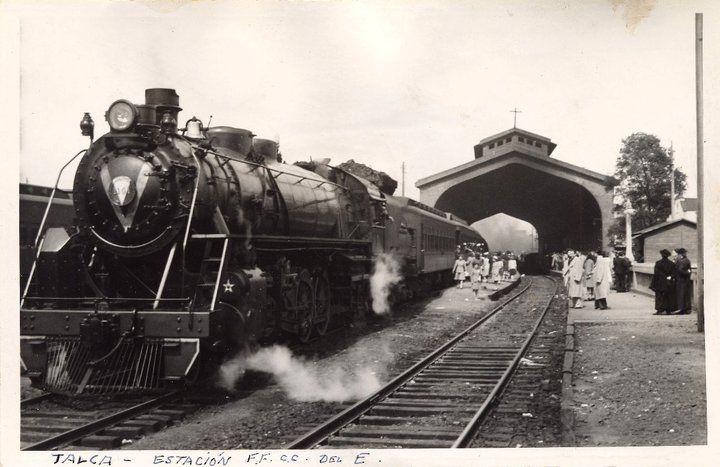 TALCA: Estación de Ferrocarriles