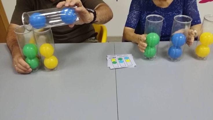 Juego de lógica. Bolas colores II