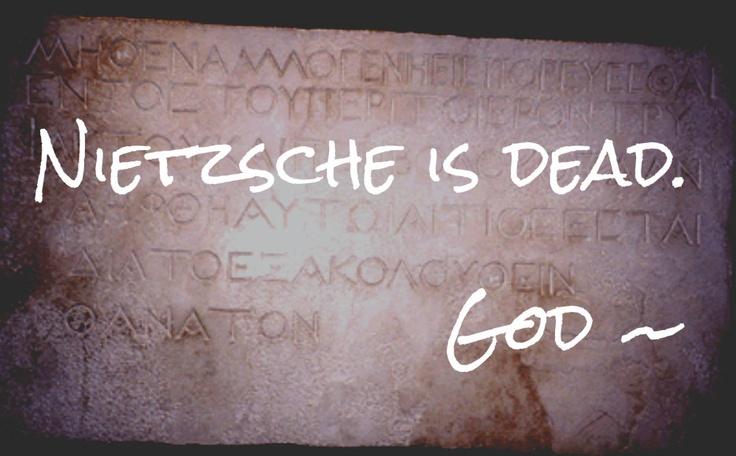 nietzsche god is dead essays