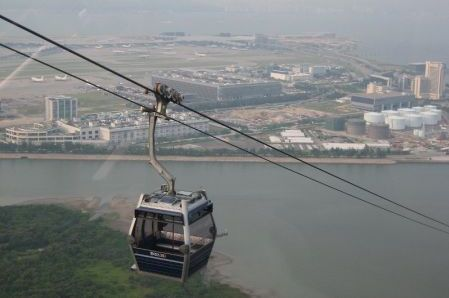 Discover Ngong Ping 360 - Hong Kong's new attraction. A stunning 7.5 kilometers cable car ride between Tung Chung Town Centre and Ngong Ping, Lantau Island and here's how to get there.