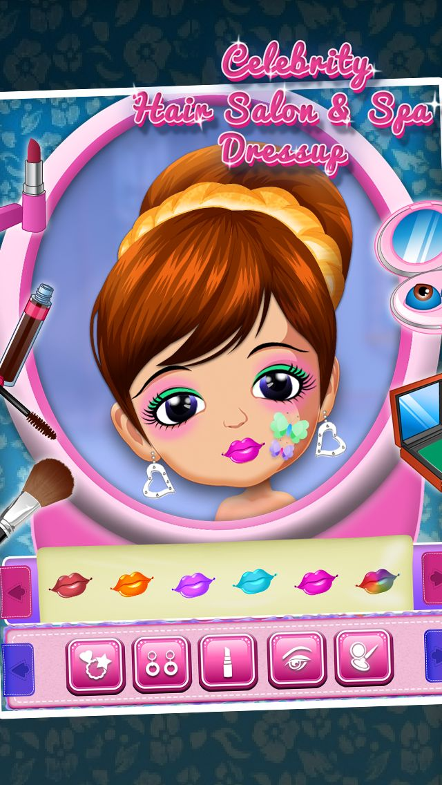 #gamedev Celebrity Hair Salon & Spa Dressup #iOSGame Source Code to launch beauty game