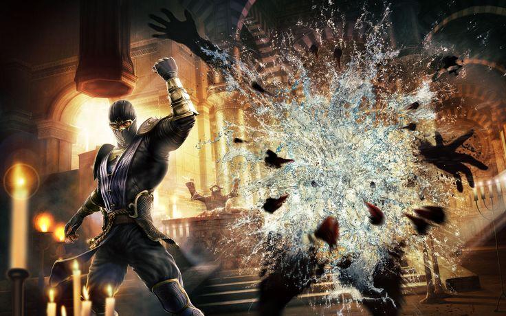 Official Mortal Kombat Wallpaper