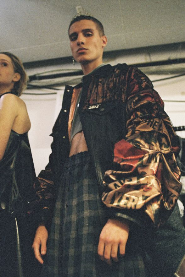 Meet the fashion graduate subverting lad culture