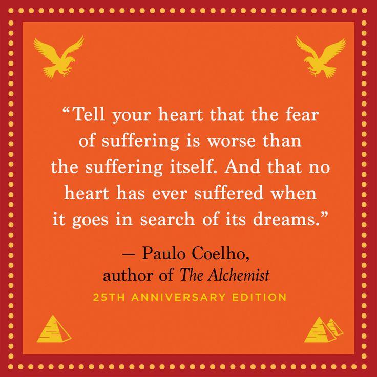 Paul Coelho author of The Alchemist.