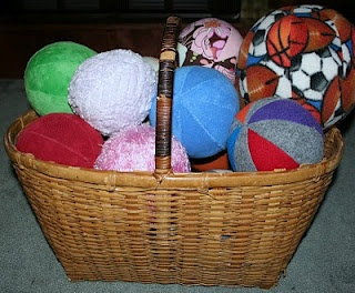 Autism--Make your own Sensory Balls