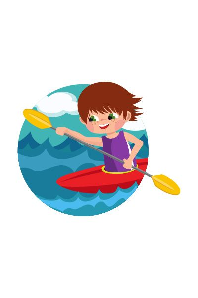 Kid Canoeing Vector Image #canoeing #vector http://www.vectorvice.com/kids-activities-vector