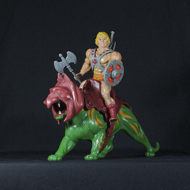 He-man i suoi amici e anche il castello