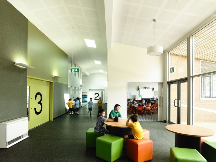 Modern School Canteen Interior Design Ideas Birralee Primary Kerstin Thompson Architects Shared Learning Kids Perf Gyp