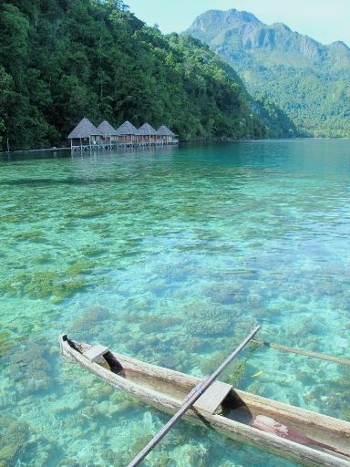 A place to hide away, North Seram Island, Maluku, Indonesia.