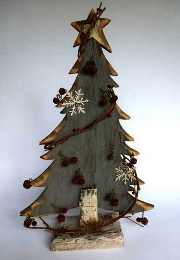 Making Christmas Tree Decorations From Recycled Materials Into Christmas Tree Storage Dunelm Wood Christmas Decorations Diy Christmas Tree Primitive Christmas