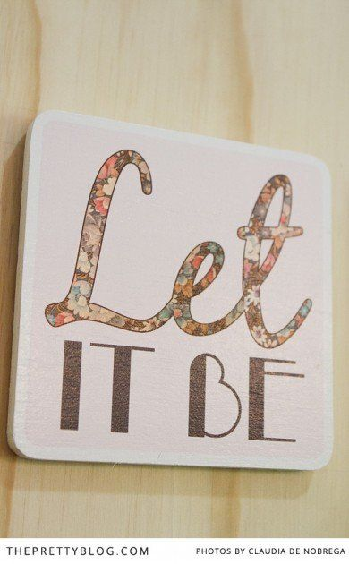"""Let it be"" photoblox | Product: Photoblox, Photographer: Claudia de Nobrega"
