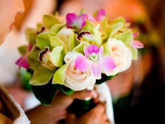 Bouquet con Orquideas -- Fotografía: John and Joseph Photography