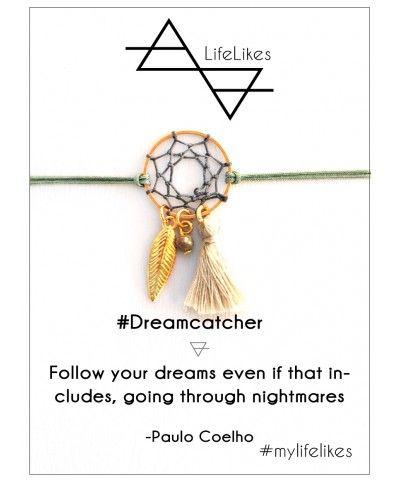 Dreamcatcher bracelet mylifelikes  handmade charm bracelets from Greece