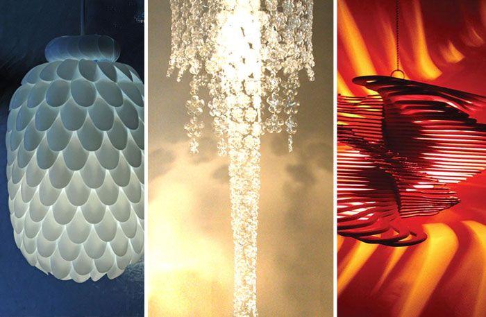 14 otroliga lampskärmar som du kan göra själv (försöka, i alla fall) - Sköna hem