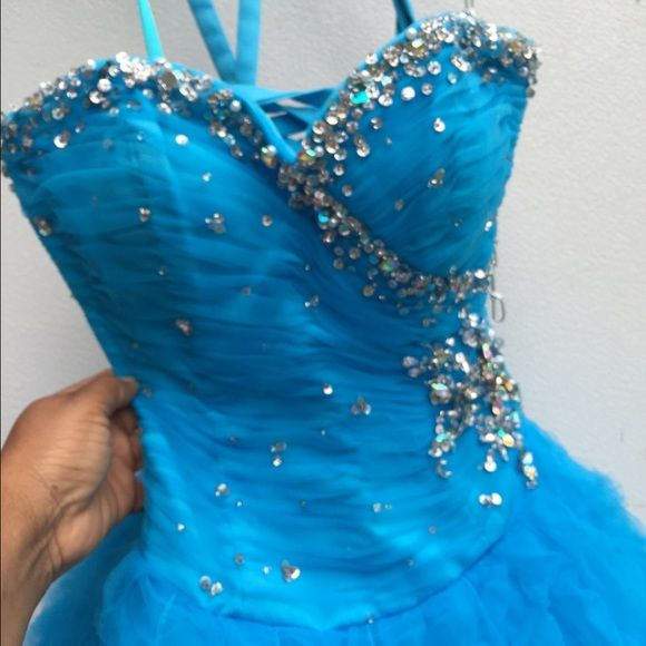 "Selling this ""Blue Ball Gown Dress W