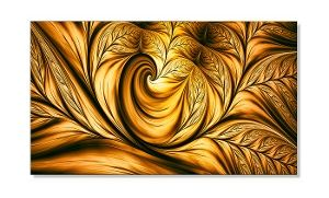 Groupon - Gallery-Wrapped Fractal Print on Canvas—1–Panel or 5–Panel from 32'' to 60'' Wide in [missing {{location}} value]. Groupon deal price: C$44.99