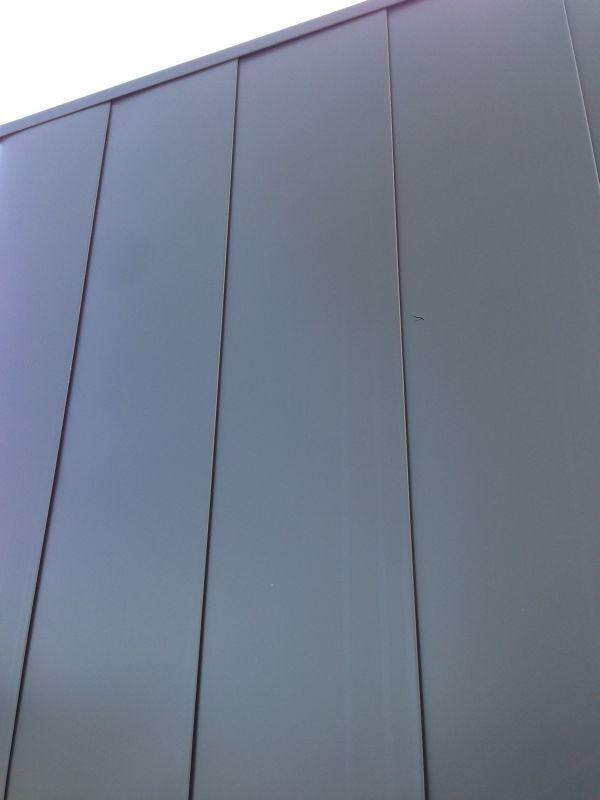 25 best ideas about aluminium cladding on pinterest zinc cladding roof cladding and cladding for Exterior aluminum wall cladding