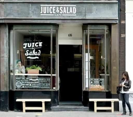 Juice & Salad, lunch | Vijzelstraat 135 | Amsterdam