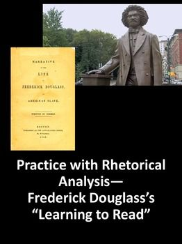 learning to read and write frederick douglass analysis