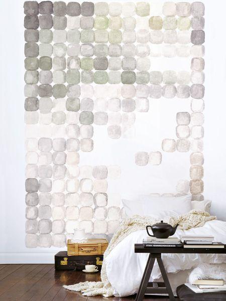 die besten 25 wand hinter bett ideen auf pinterest graue schlafzimmer w nde kleiderschrank. Black Bedroom Furniture Sets. Home Design Ideas