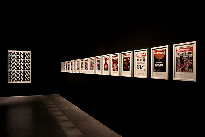Alfredo Jaar  /  © Photo: Haupt & Binder  Most impressive work I have seen last year.
