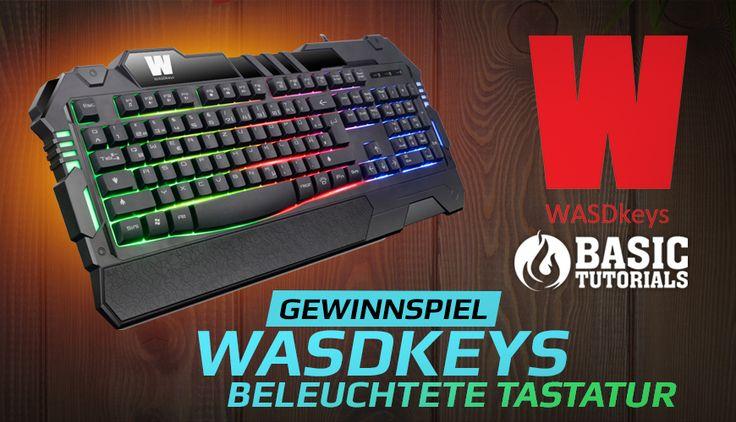 """#Gewinnspiel: Beleuchtete Tastatur """"K200"""" von WASDkeys"""