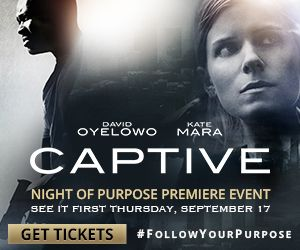 Get ready for the Night Of Purpose, September 17th, 2015. Watch Book Fun for venues to see the movie FREE