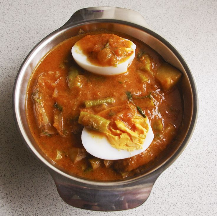 Eggs, Beans and Chips (Asian Style)