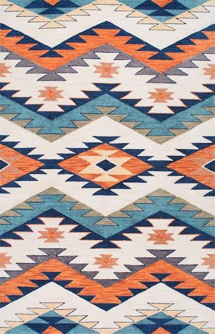 Rugs USA Multi Pampa Pyramid Maze Rug
