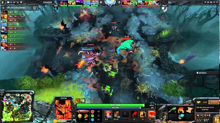 DotA2  Invictus Gaming Vs Newbee Best Match