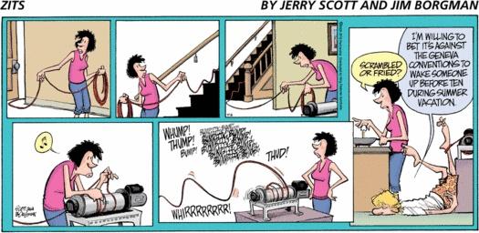hehe!! :-) -Zits Comic